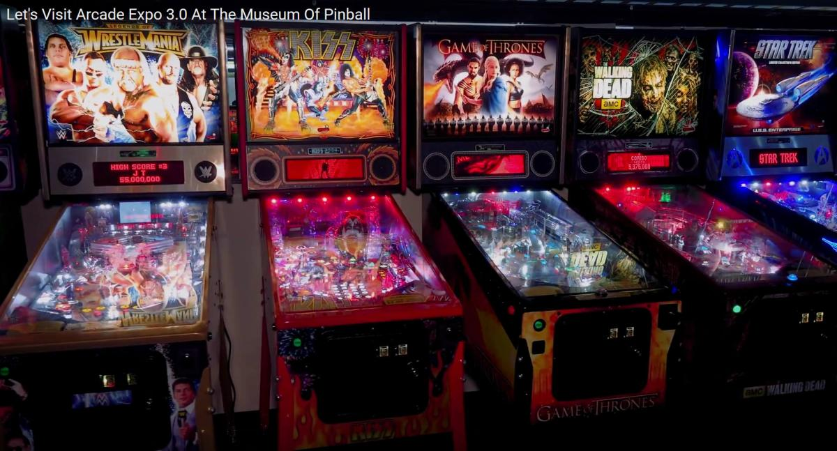 Pinball Machines Arcade